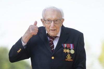 助行器挑戰替醫護募得逾12億 英百歲二戰老兵將被授爵