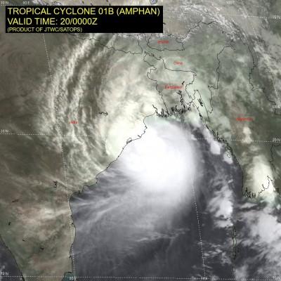 印度洋氣旋「安攀」將登陸 逾300萬人撤離防風暴潮