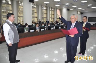 桃市教育局長高安邦升任副市長  林錫耀弟接任教育局長