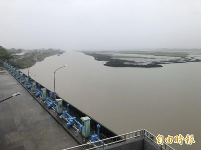 南化水庫進帳500萬噸 南台灣水情有紓緩