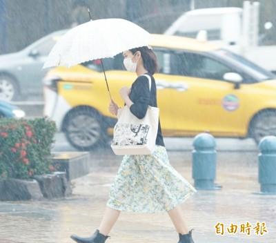 狂風暴雨襲台!週五中南部留意豪大雨 山區慎防土石流