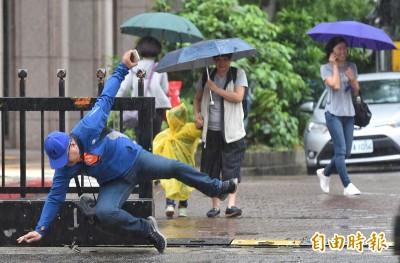 滯留鋒及西南氣流發威!20縣市發布豪雨、大雨特報