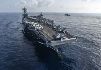 軍情動態》歷經大修、染疫 美航艦「雷根號」重回西太平洋