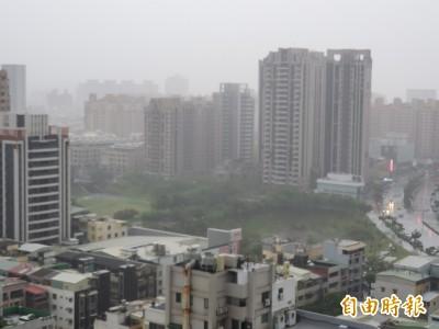 高市今風雨增強 岡山潭底等3橋達水位警戒