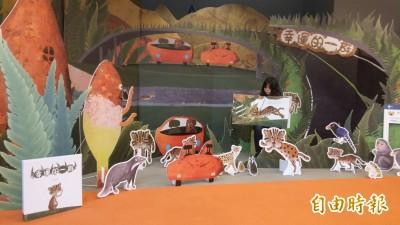 交通部兒童繪本石虎當主角 林佳龍化身「龍龍」說故事
