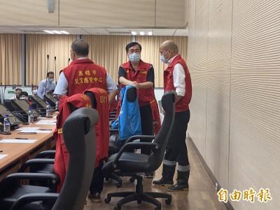 韓國瑜稱跑8個淹水點勘災 點名七賢抽水站缺失