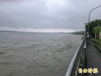 超大豪雨解渴 台南、高雄水情燈號恢復正常