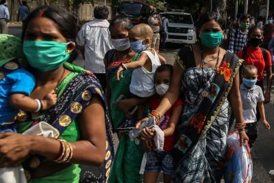 武漢肺炎》印度確診激增6088例創單日新高 累計破11萬