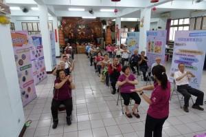 銀髮族防疫 竹縣社區營養推廣中心規劃7大教育主題