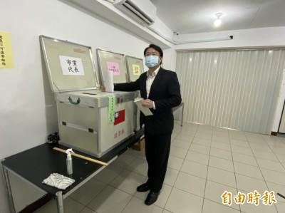 民進黨基隆市黨部主委 蘇仁和、陳志成廝殺預計下午5點揭曉