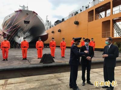 國防MIT》首艘海巡版「沱江艦」年底前交艦  第2艘11月下水