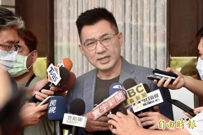 蔡總統稱視情勢停止港澳條例 江啟臣:跟北京站在一起?