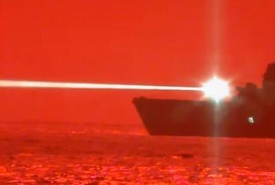 呵呵!美測試艦載雷射武器成功 中媒引俄專家說法:還好我們有霧霾