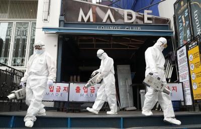武漢肺炎》南韓夜店群聚感染已237人確診 更出現第6代感染者