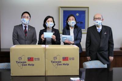 助日抗疫 南市台日文化交流基金會贈1070件防護衣
