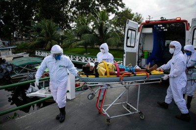 武漢肺炎》南美成重災區  巴西單日死亡病例首超美國