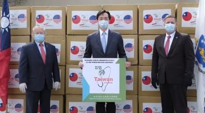 台美友好!我至今捐逾400萬口罩 各州首長公開感謝