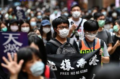 反對中國與港府訂立惡法!香港中學生響應「527全民大三罷」
