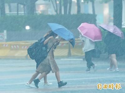 週四全台天氣仍不穩!西半部留意局部短時強降雨