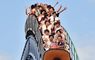 武漢肺炎》日本主題樂園防疫守則:搭雲霄飛車「請勿尖叫」