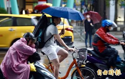 16縣市豪大雨特報 高雄市、雲林縣淹水警戒