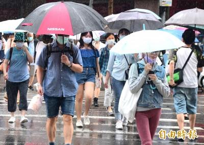 明天出門記得帶傘!週五全台有雨 山區留意午後強降雨
