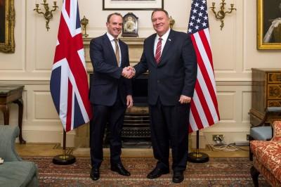 港版國安法》美國務卿與英外相通話 雙方籲中國履行承諾