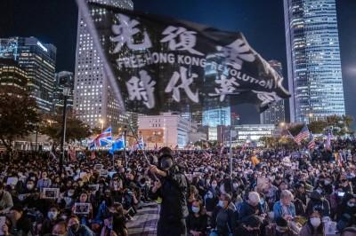 港版國安法過關 美澳英加聯合聲明痛斥中國