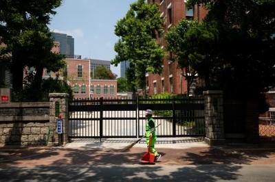 武漢肺炎》南韓首都圈疫情升溫 逾500間學校再度停課