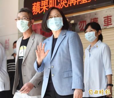 行動撐香港!蔡總統造訪「銅鑼灣書店」 強調專案工作小組助港人