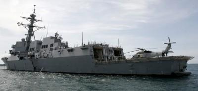 軍情動態》指南海非中國海 美飛彈驅逐艦再航行西沙群島