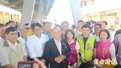 江啟臣要求為「一國兩制」言論道歉  蘇揆:國民黨要跟上台灣主流民意