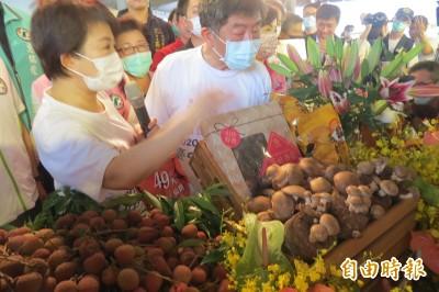 「最強業配王」台中行 陳時中看到這個:身為台灣人太幸福了