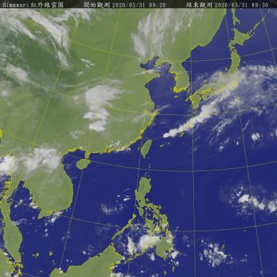 梅雨鋒面暫離 未來一週高溫午後雷雨天氣