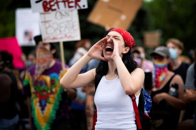 美國各地示威是「外部勢力」煽動? CNN:抗爭是真的