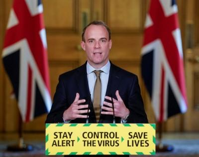 英外交大臣拉布:絕不逃避對香港人民的責任