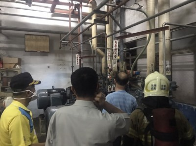 快訊】台南安平工業區疑驚聞氨氣外洩 民眾勿經過該區