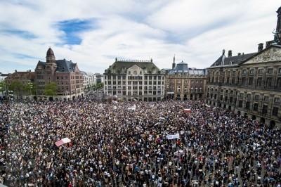 反歧視抗爭擴大  荷、法、加接連爆發示威