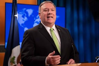 中國強推港版《國安法》 美國務卿:考慮讓港人赴美