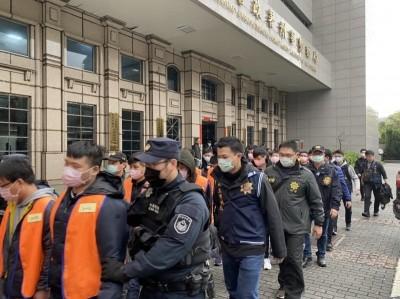 中國搶輸了!到黑山國騙6億元 中檢起訴92名騙徒