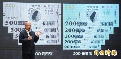 政院振興3倍券 消基會:千元部分不應設使用期限
