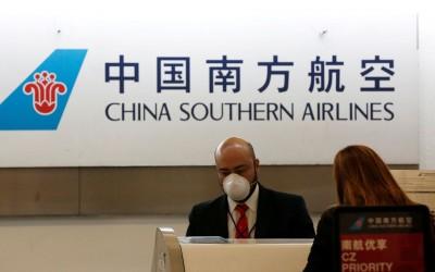 美國運輸部:16日起禁止中國客機飛往美國
