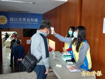 疫情趨緩解封 東縣7日起進出各級機關、學校無須監測體溫