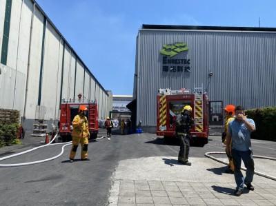 熱到自燃?屏南工業區工廠驚傳火警