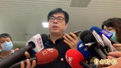 罷韓跟政黨派系無關 陳其邁:高雄人自己做決定