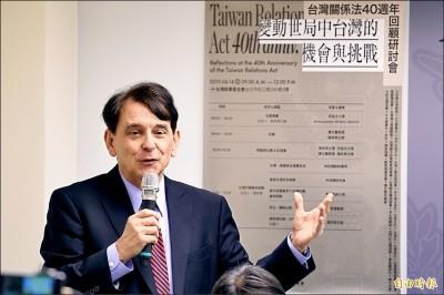美國不跟中國合作? 司徒文反問:中國為何不停止霸凌港台