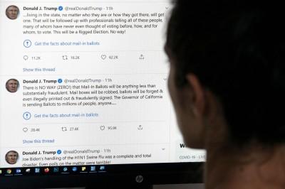 推特治國!川普單日發送 轉貼200條貼文破紀錄