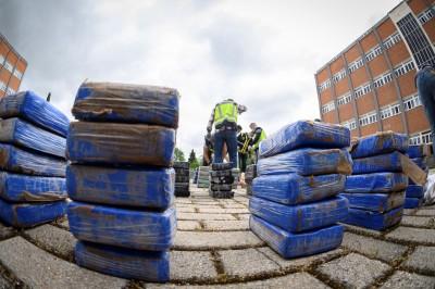 哥倫比亞查獲近5噸古柯鹼 市值78.4億台幣