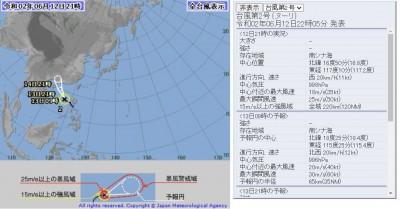 第2號颱風「鸚鵡」正式生成!外圍雲系影響東部、南部