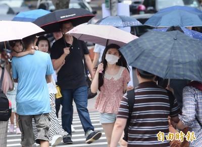 大台北今高溫飆36度 各地慎防午後雷陣雨